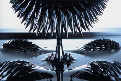 ježkasti ferofluid