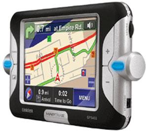 Uniden MapTrax GPS