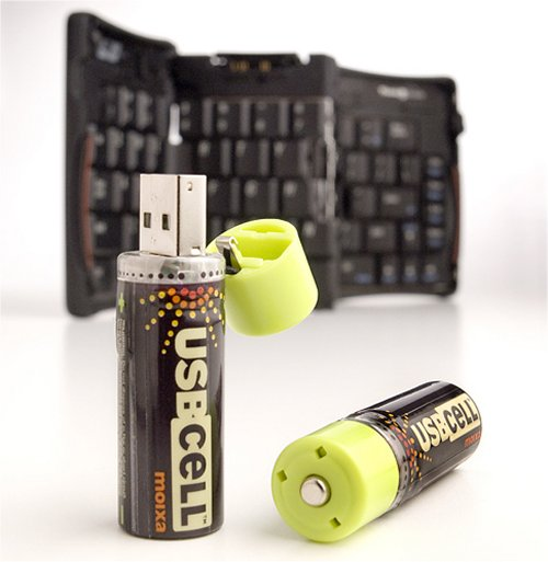 USBCell Rechargeable USB Batteries