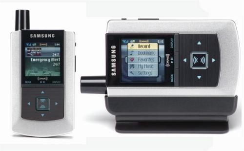 Samsung Helix Satellite Radio
