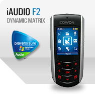 iAUDIO F2