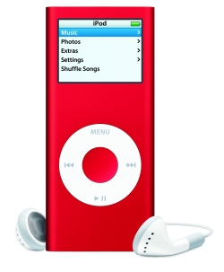 Apple iPod nano red