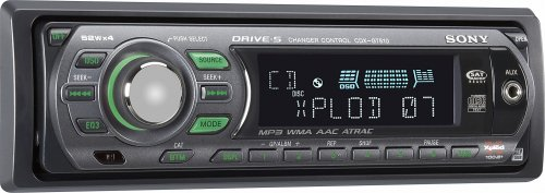 Sony CDX-GT510 CD/MP3 Car Receiver