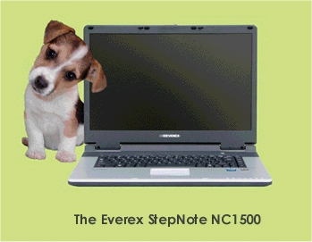 StepNote NC 1500 Energy Effecient Notebook