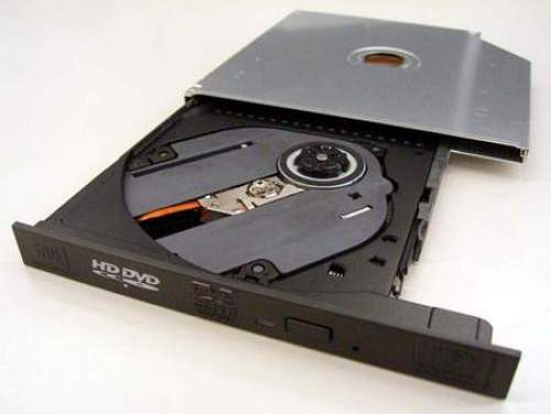 Toshiba HD DVD Burner for Laptops