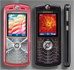Motorola SLVR Pink