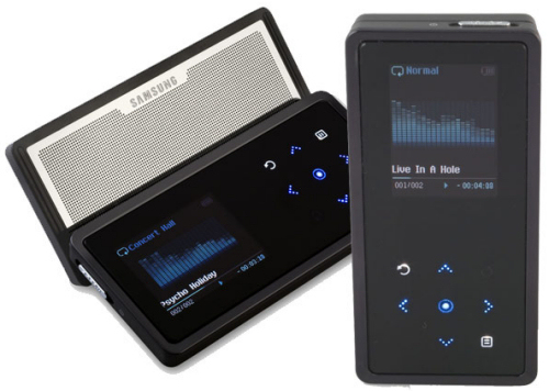 Samsung K5 MP3 Player
