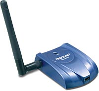 TRENDnet Wireless USB Adapter TEW-445UB