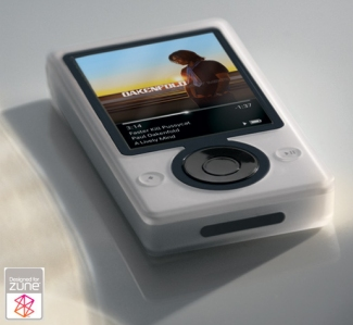 Zune Player White