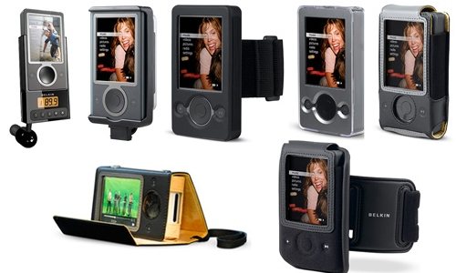 Belkin Zune Accessories