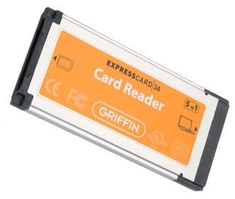 Griffin 5 in 1 ExpressCard Reader
