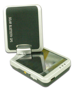 i-Blue757 Solar Powered Bluetooth GPS Receiver