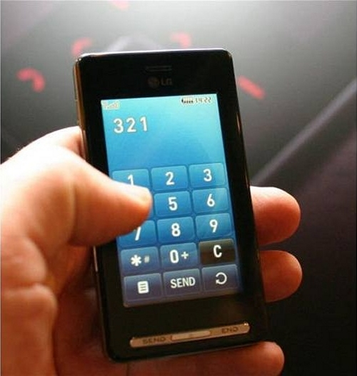 touch screen mobile