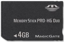 Memory Stick Pro-HG From SanDisk and Sony
