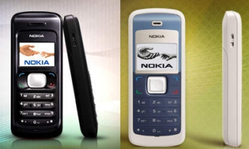 Nokia 1325 And Nokia 1265 CDMA Phones