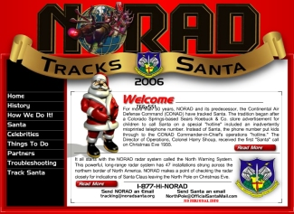 Norad Tracks Santa Using Radar, Cameras and Fighter Jets
