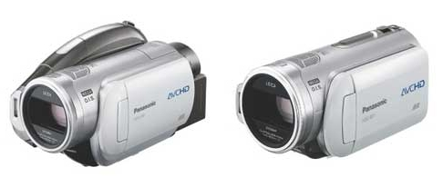 Panasonic 3CCD High Definition AVCHD Camcorders