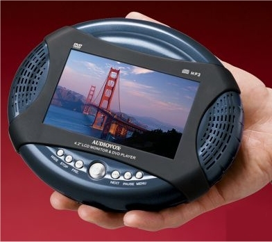 Portable Handheld DVD Player