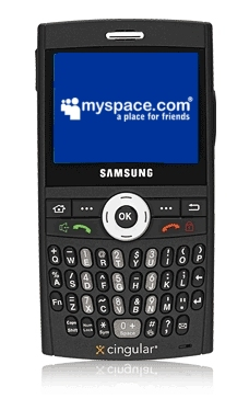 Cingular MySpace Mobile