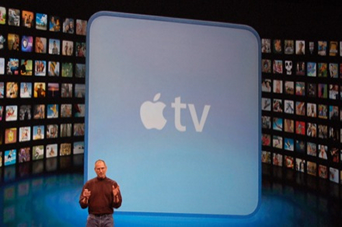 Jobs Unveils Apple TV Today at MacWorld in San Francisco