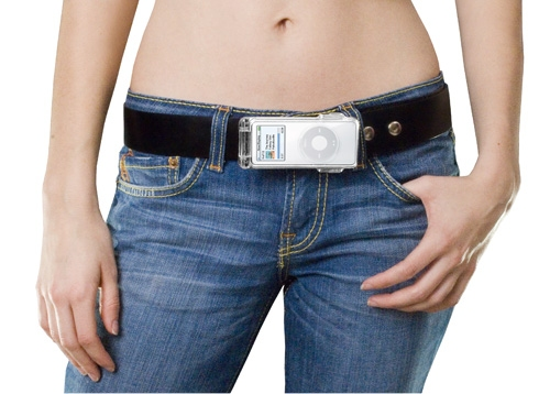 Beat Buckle to hold the iPod on a belt.