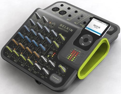 Belkin TuneStudio Audio Mixer for iPod