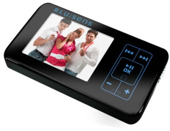 BLU:sens G14 MP3 player with wifi and allows sharing of songs