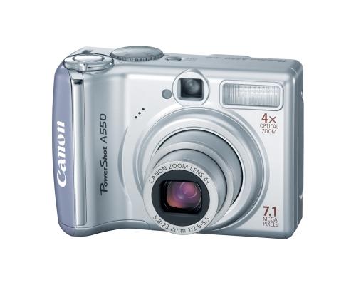 canon powershot a550 camera