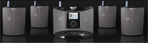 IntelliTouch Eos Wirless Speakers for iPod