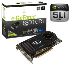 Evga E Geforce 8800 Gts
