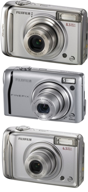 Fujifilm Announces FinePix Digital Cameras, FinePix F40d, FinePix A800 and FinePix A610