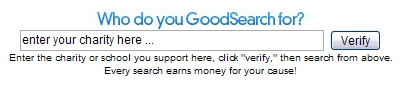 GoodSearch.com - Search the Web for a Cause