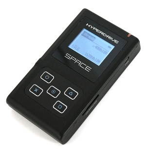 Hyperdrive SPACE HDD enclosure and flash card reader