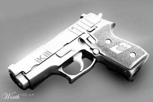 iKill Gun for Next Apple Product Design Contest