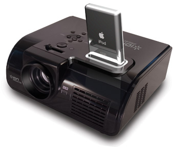 Ion iprojector for video ipod for Apple video projector