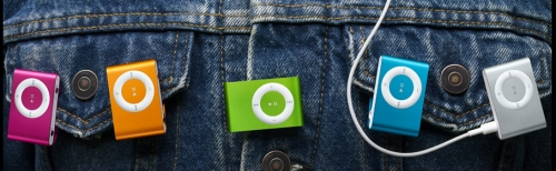 iPod Shuffle from Apple now has 5 colors