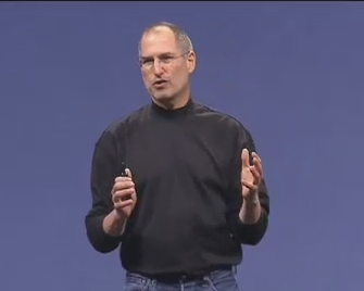 steve jobs macworld keynote - stocks fall on back dating scandal news