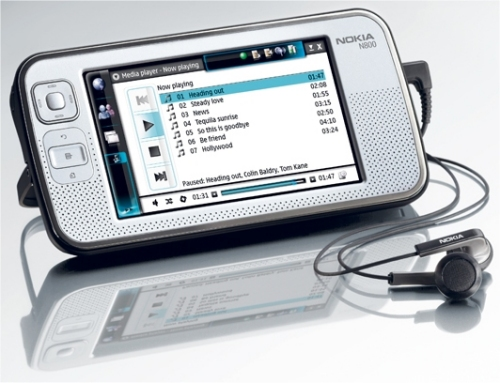 Nokia Releases N800 Internet Tablet