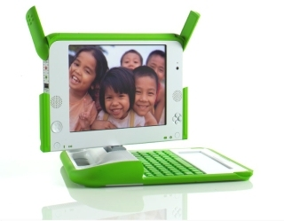 The OLPC has no commercial plans at this time, but may consider them for the XO laptop in the future.