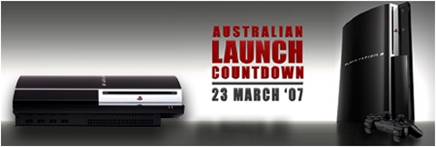 PS3 Europe, Australia, Asia Launch Date has been Announced for March 23