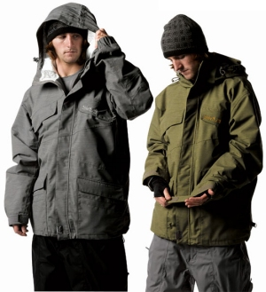 Quiksilver Double Daffy Snow Jacket