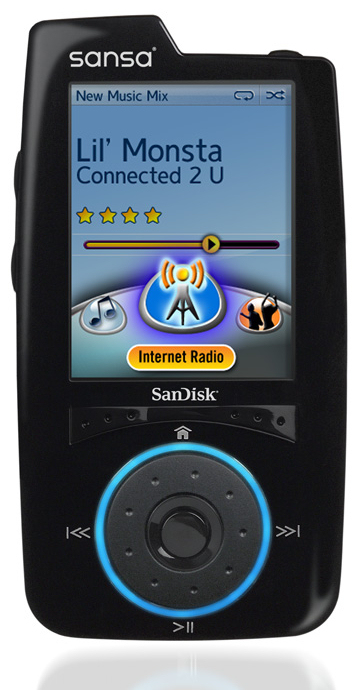 SanDisk Releases Sansa Connect MP3 Player