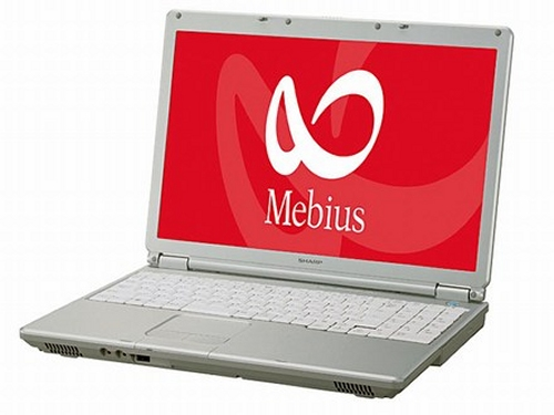 Sharp Unveils Notebook Mebius with Vista Installed