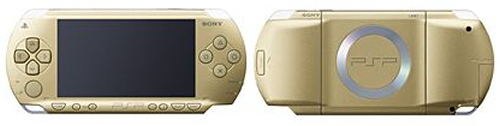Sony PSP Champagne Gold