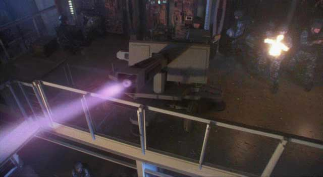 Navy test railgun - a railgun demonstrated in stargate atlantis
