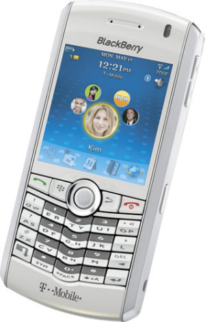 While BlackbBerry Pearl Launched by RIM and T-Mobile