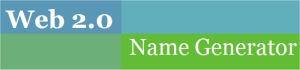 Web 2.0 Name Generator