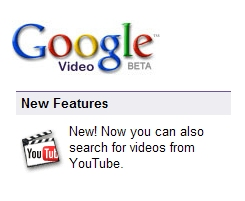 YouTube Relegates Google Video to Search Tool