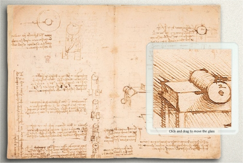 Microsoft and the British Library Digitize da Vinci