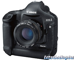 Canon EOS-1D Mark III DSLR digital camera